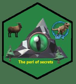 badge 1-The-per-of-secrets