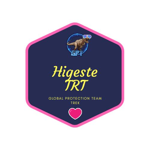 badge Higeste TRT