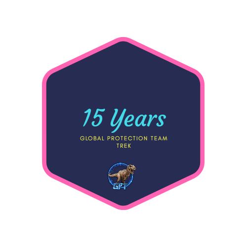 badge 15 years