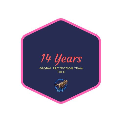 badge 14 years