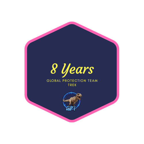 badge 8 years