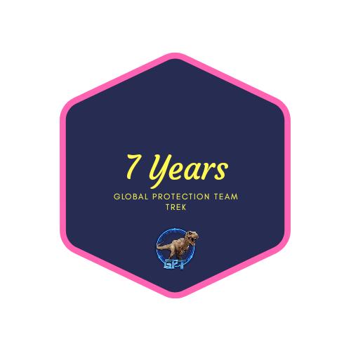badge 7 years