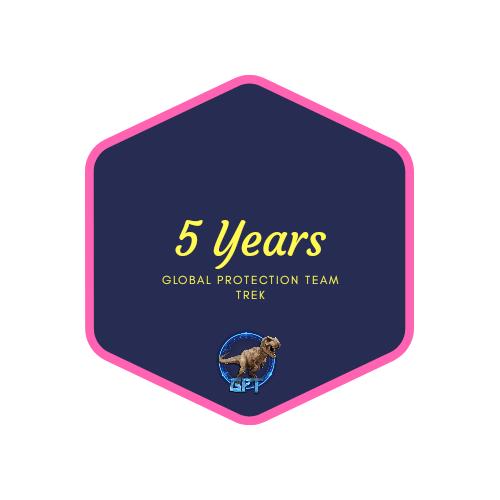 badge 5 years