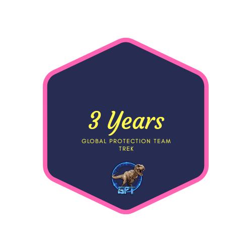 badge 3 years